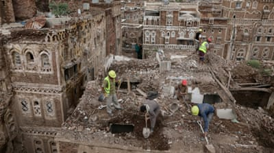 Yemen's UNESCO-listed Old Sanaa houses collapse in heavy rains