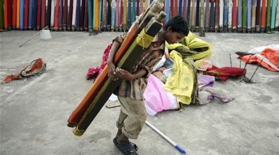 Παιδί εργαζόμενος στην Ινδία