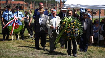 Victims of Sinti and Roma Holocaust remembered at Auschwitz