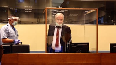 Prosecutors urge UN judges to uphold Mladic's genocide conviction