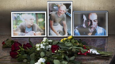 The murder of three Russian journalists should not go unsolved