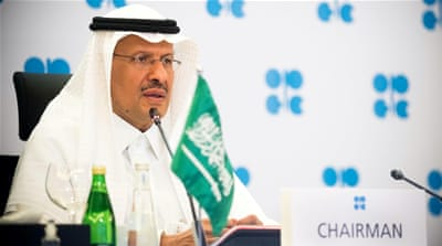 Saudi energy minister warns oil price gamblers 'make my day'