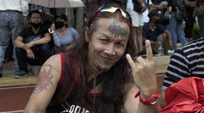 Bangkok protest - do not use