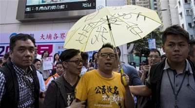 Hong Kong activist charged under colonial-era sedition law