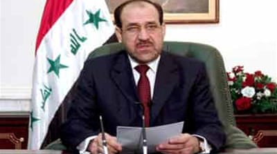 Al-Maliki plans Baghdad crackdown