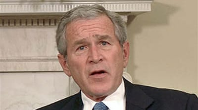 Bush vows not to be rushed on Iraq