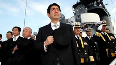 Abe sets out new vision for Japan