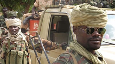 Chad rebels 'down government plane'