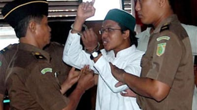 Indonesian jailed on terror charges