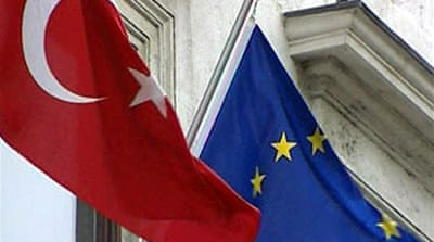 EU limits Turkey accession talks