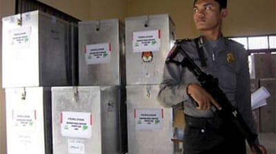 Aceh voters head to polls
