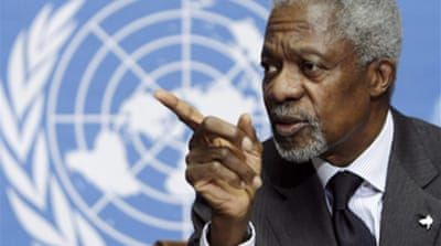 Annan to US: Stay fully engaged