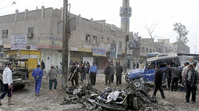 Wave of car bombs in Baghdad