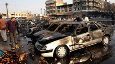 Dozens killed in Iraq violence
