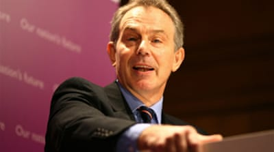 Blair warned against Iran attack