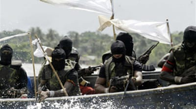 Fighters kidnap three in Nigeria