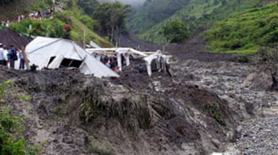Many dead in Indonesia mudslide