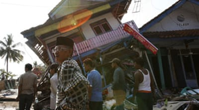 Earthquakes rock Sumatra