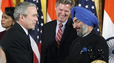 Bush signs India nuclear bill