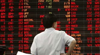 Asia jitters as Thai stocks plunge