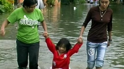 Malaysian floods claim two lives