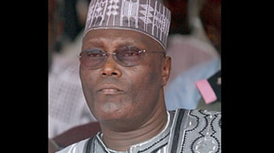 Nigerian vice-president removed