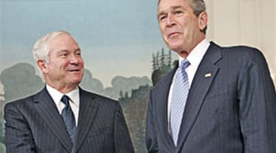 Bush and Gates grapple with Iraq