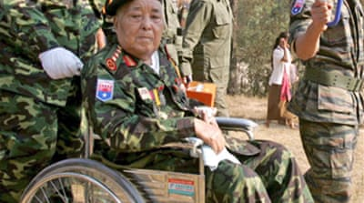 Burma rebel leader dies