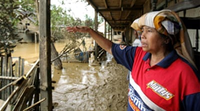 Acehnese devastated by floods