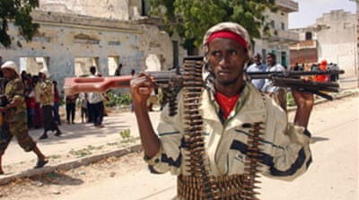Anti-Ethiopian protest in Mogadishu