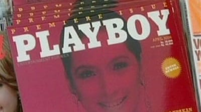 Indonesians threaten Playboy trial