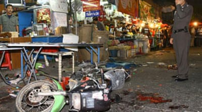 Six bombs explode in Bangkok