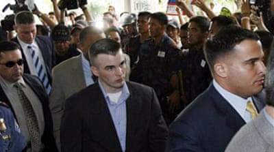 Manila jail for US rape case marine
