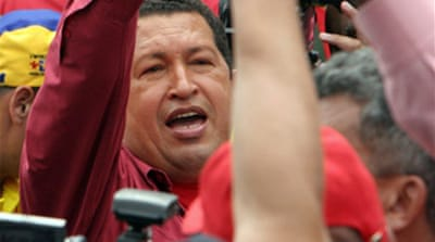 Chavez re-elected in Venezuela