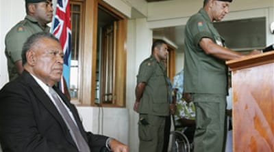 Fijian prime minister sworn in