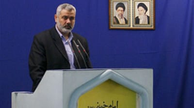 Haniya vows not to recognise Israel