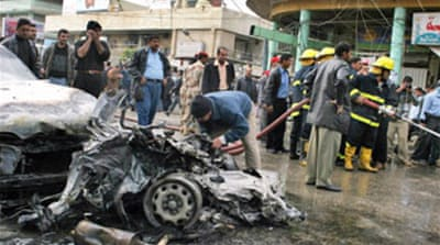 Deaths as holy city in Iraq bombed