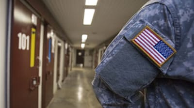 Protests on Guantanamo anniversary