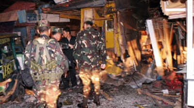 Bombs kill seven in the Philippines