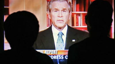 Bush Iraq plans buck public opinion