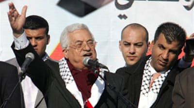 Abbas urges end to internal clashes