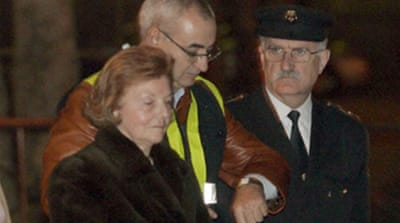 Peron arrested in Spain