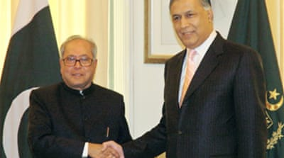 Indian minister in Pakistan talks