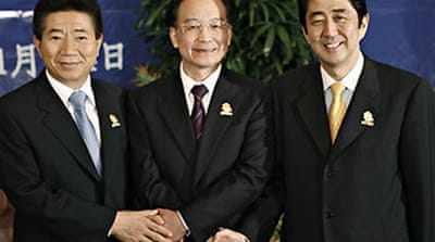 China and Japan look to mend fences