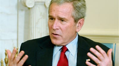 Bush calls Iran attack talk 'noise'