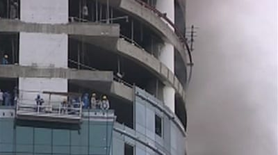 Two killed in Dubai building fire