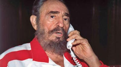 Castro making 'slow recovery'