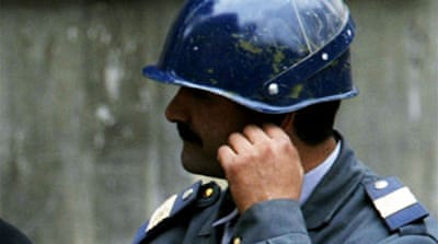 Azerbaijan jails 11 police for life