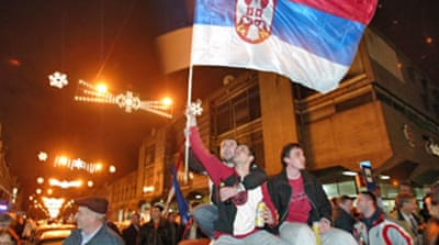 Nationalist Serbs claim victory