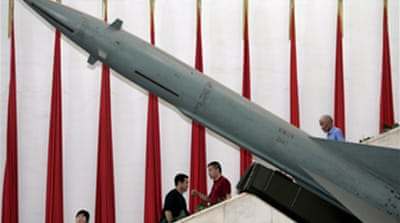 EU alarm over China space weapon